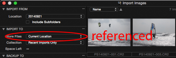 import referenced images