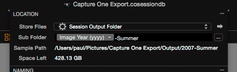 capture one export