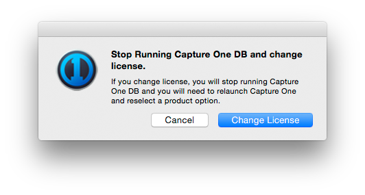 CO8Mac-StopRunningDB, capture one 8 modes