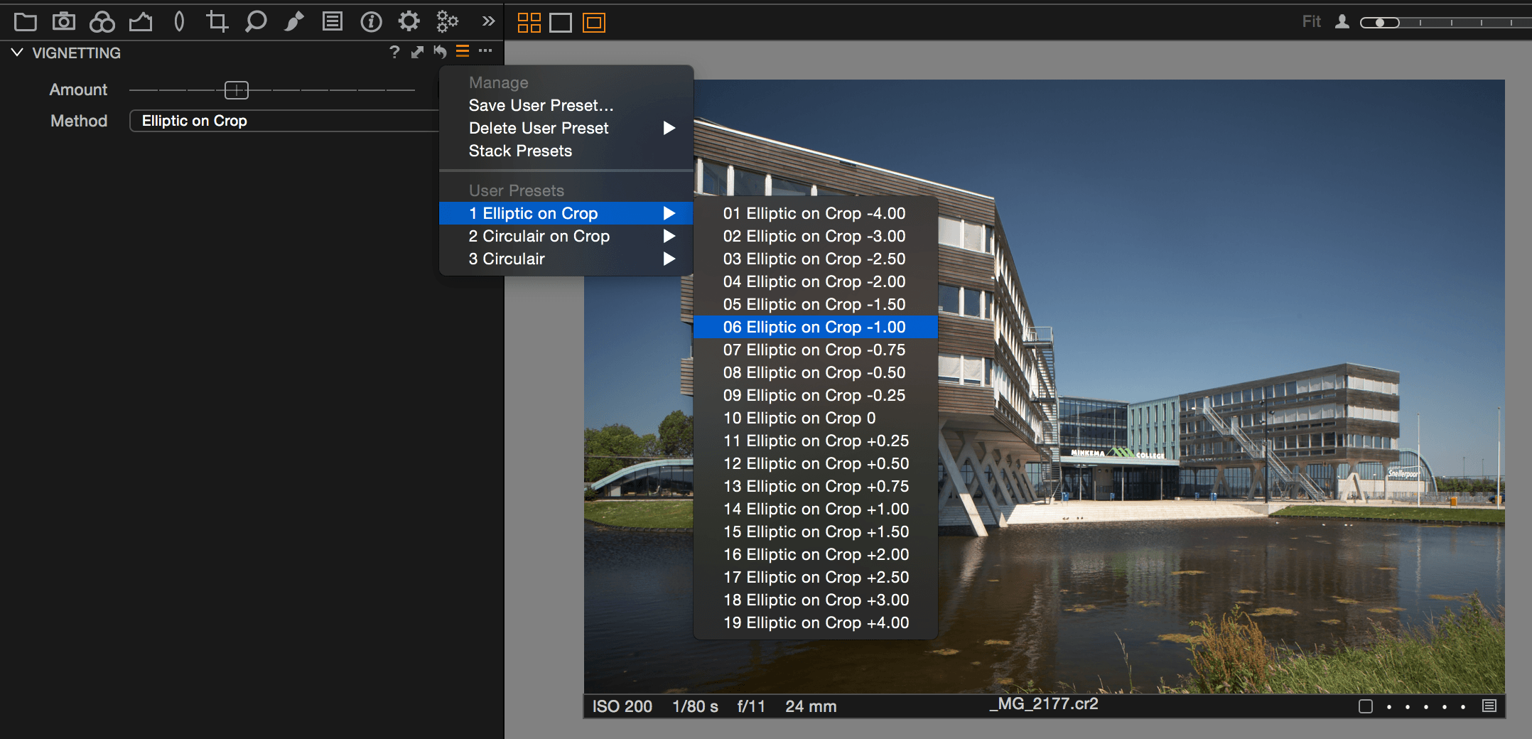 capture one presets