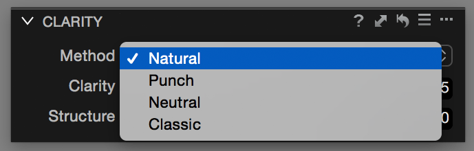 Clarity tool, methods