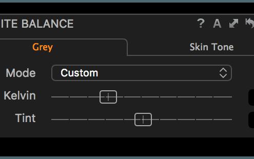 White Balance tool, shop