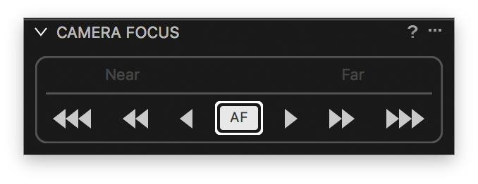 capture one pro 10, camera focus tool