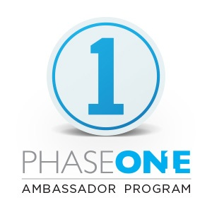 phase one ambassador with capture one pro 10 logo