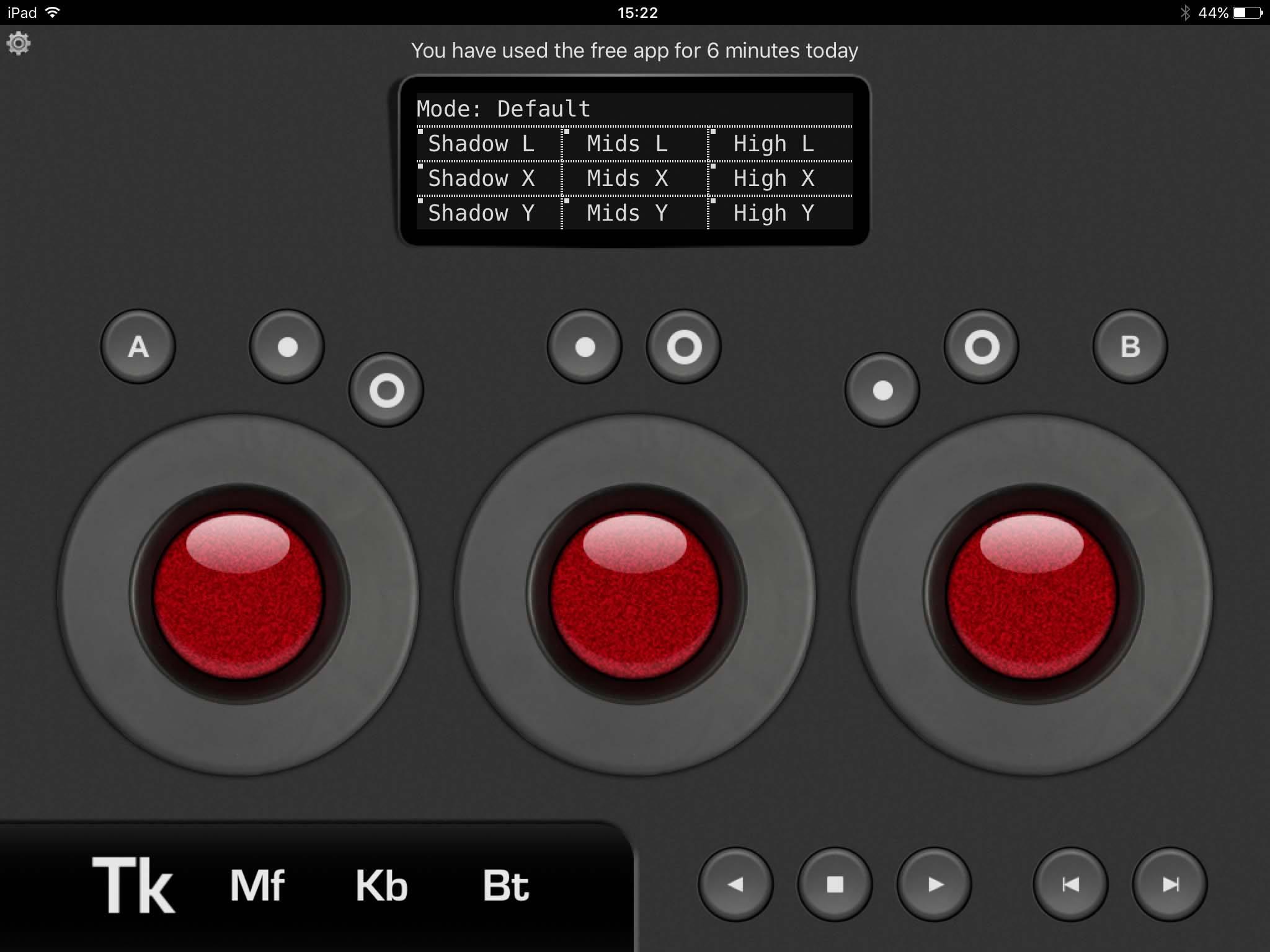 iPad, tangent element-vs, free version