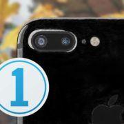 iPhone 7 Plus, capture one 10 logo