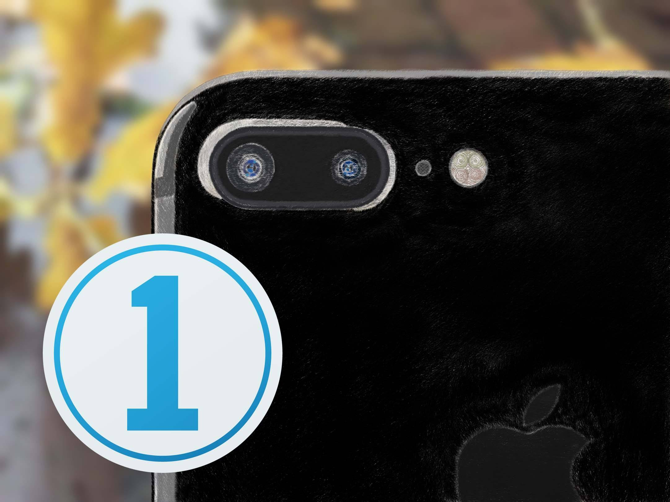 iPhone 7 Plus, capture one 10 logo