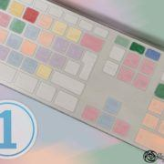 using logickeyboard for capture one, uk layout