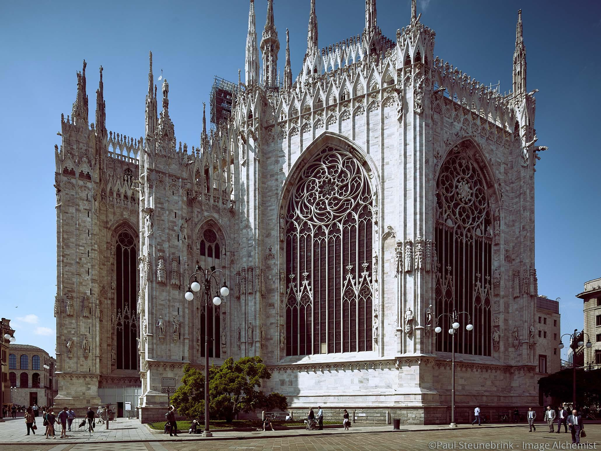 capture one color balance, milano duomo