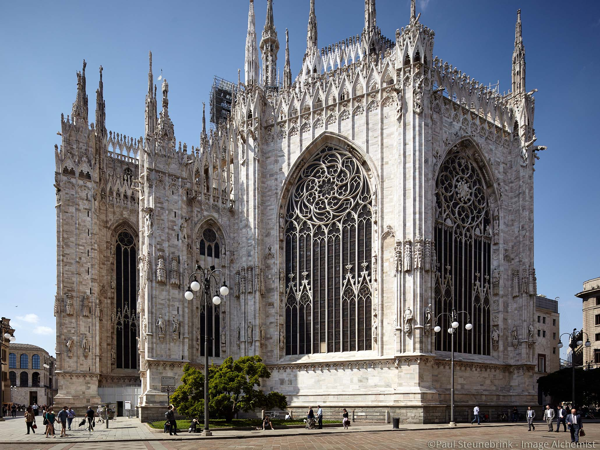 capture one color balance, milano duomo, original without color toning