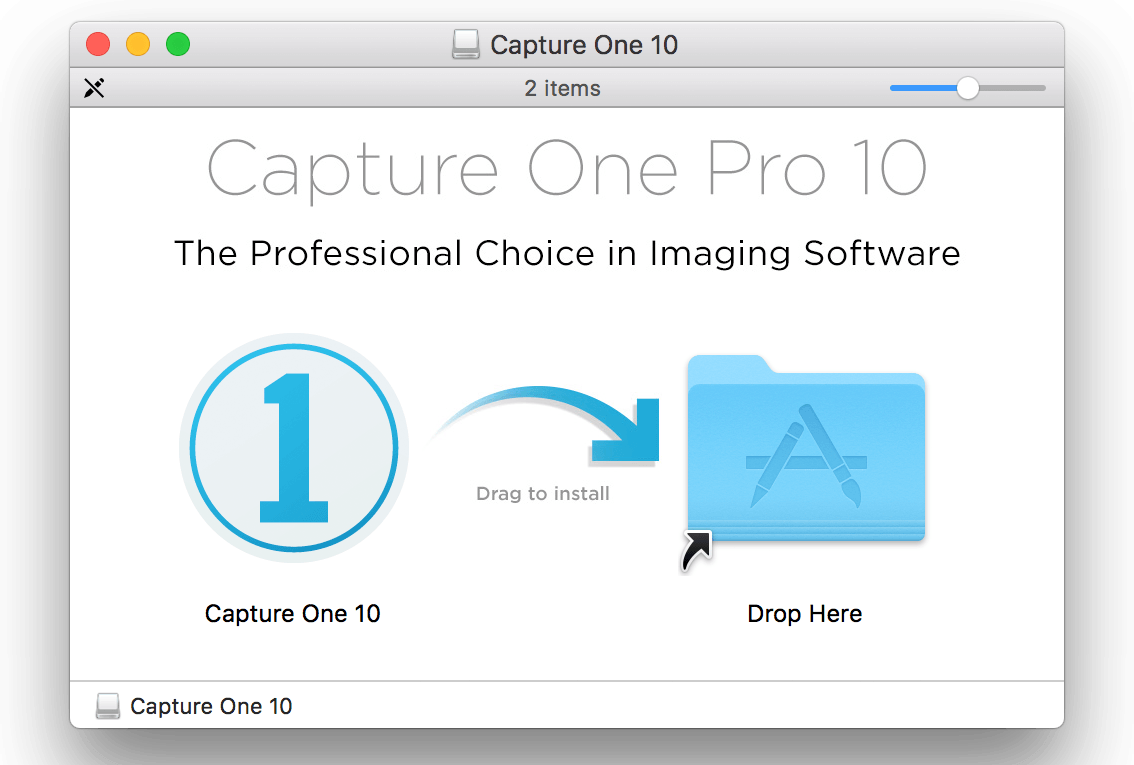 activating capture one pro, installer