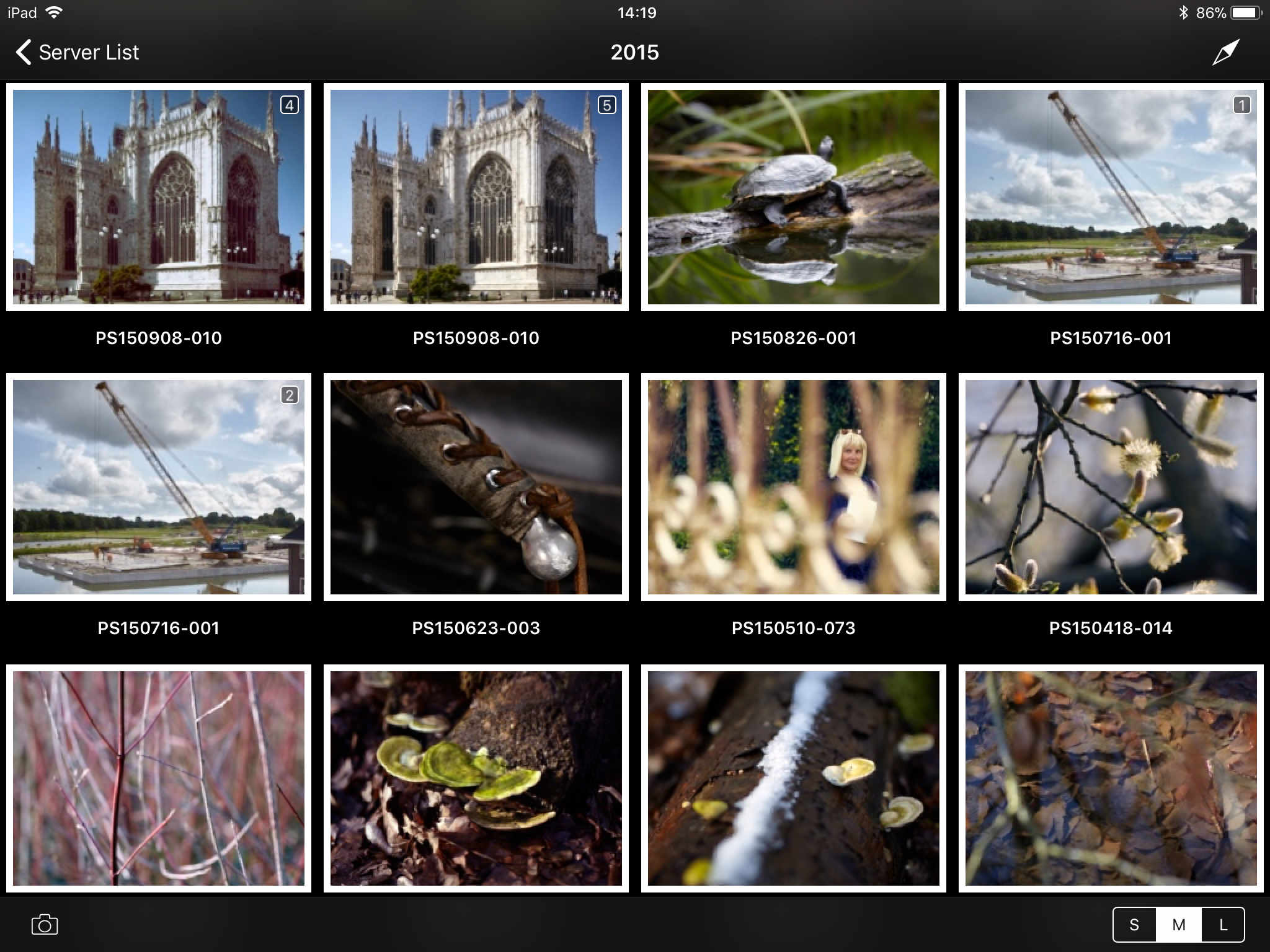 using capture pilot with capture one, capture pilot app, thumbnail view