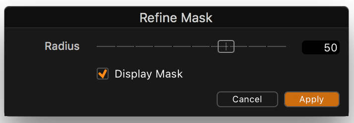 capture one pro 11 review, layers tool, refine mask dialog