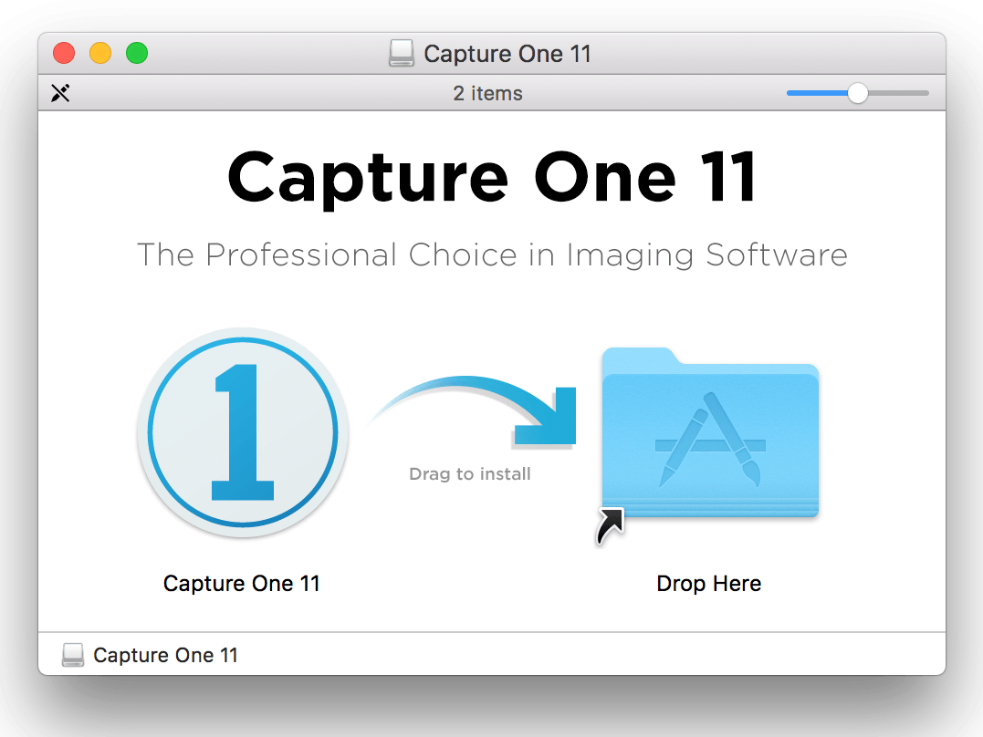 capture one 11, macOS installer