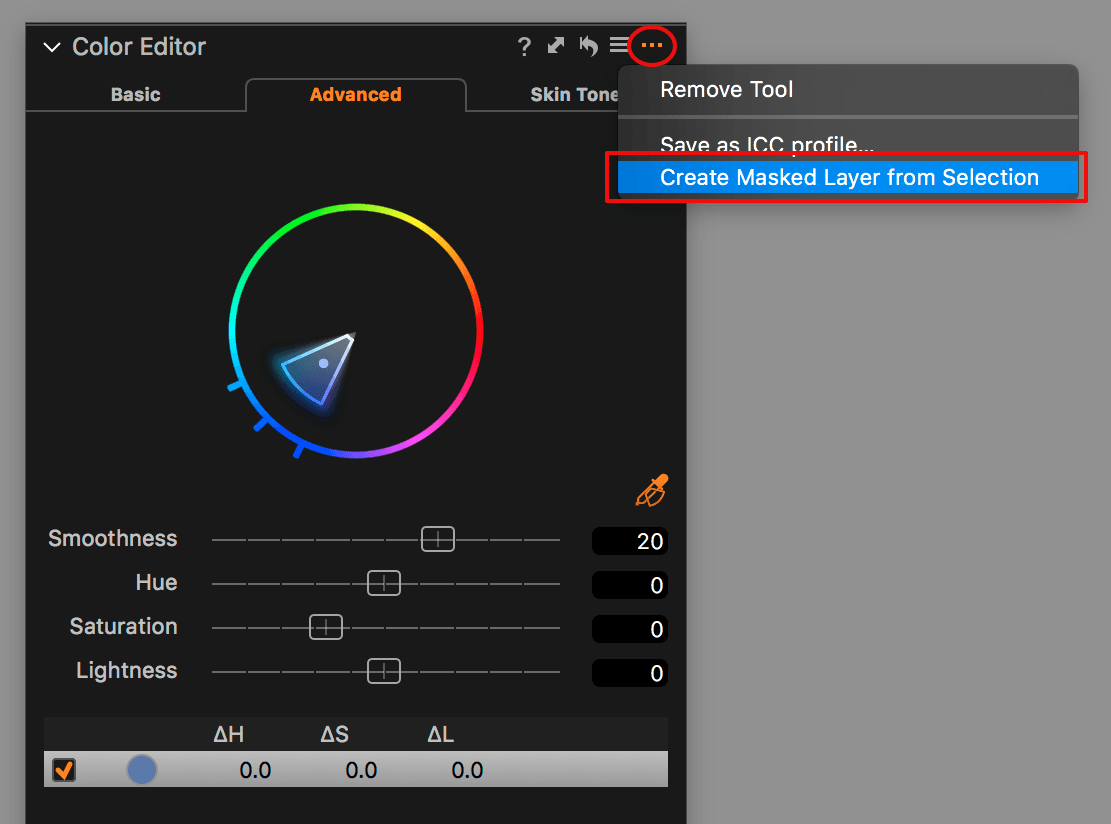capture one layers in-depth, create masked layer from selection