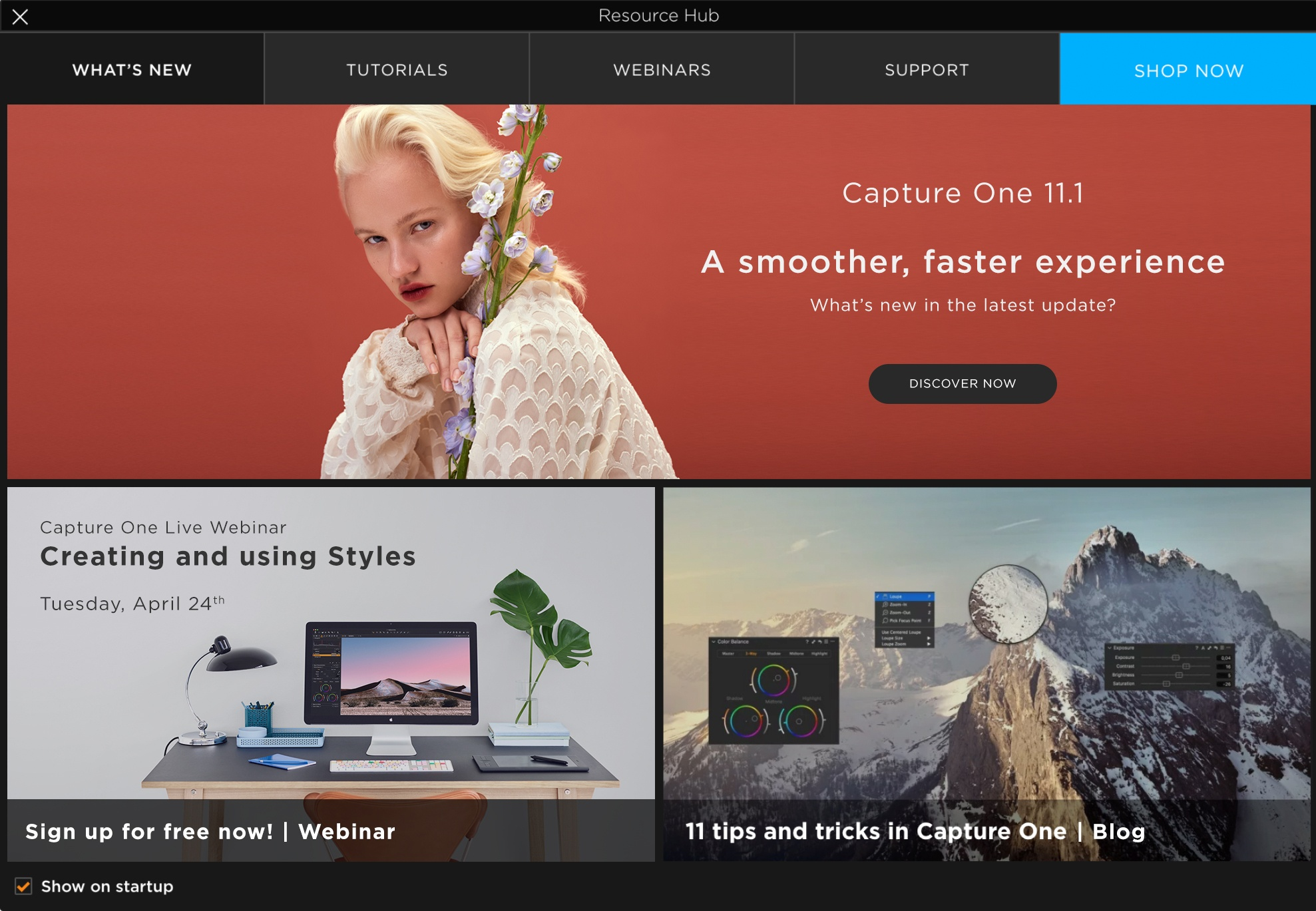 capture one pro 11.1 review, resource hub, what's new