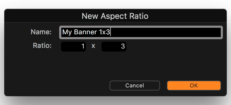 capture one composition tools, crop tool, new aspect ratio