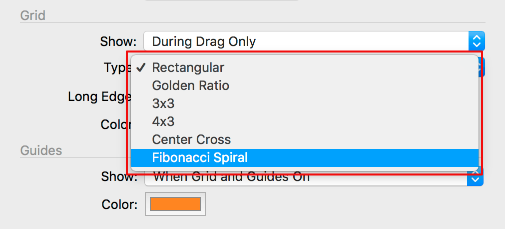 capture one composition tools, preferences, crop tab, grid