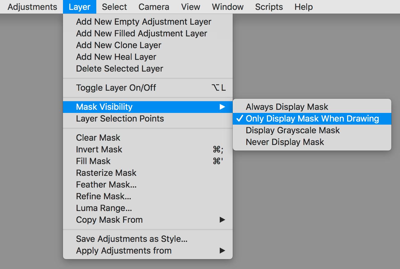 capture one pro 12 review, layer menu