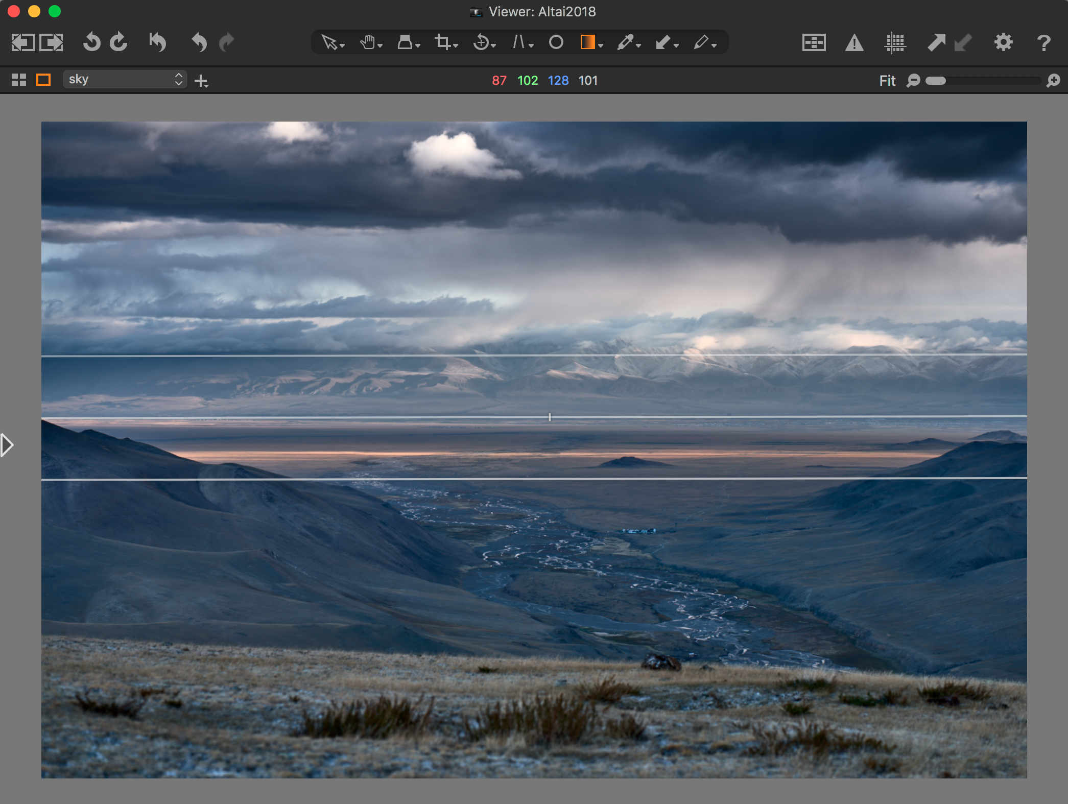 capture one pro 12 review, viewer, linear gradient mask tool
