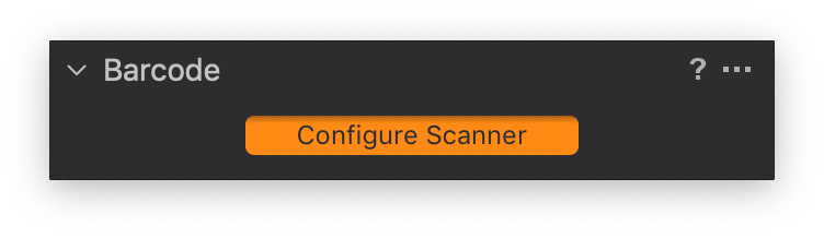 capture one, barcode tool