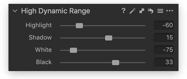 high dynamic range tool, capture one pro 20 review