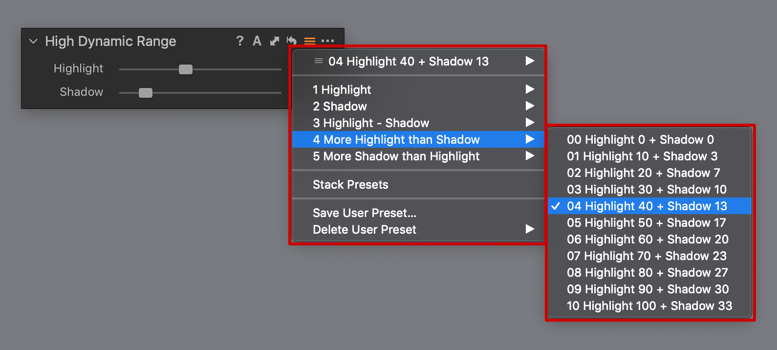capture one high dynamic range presets, capture one 12