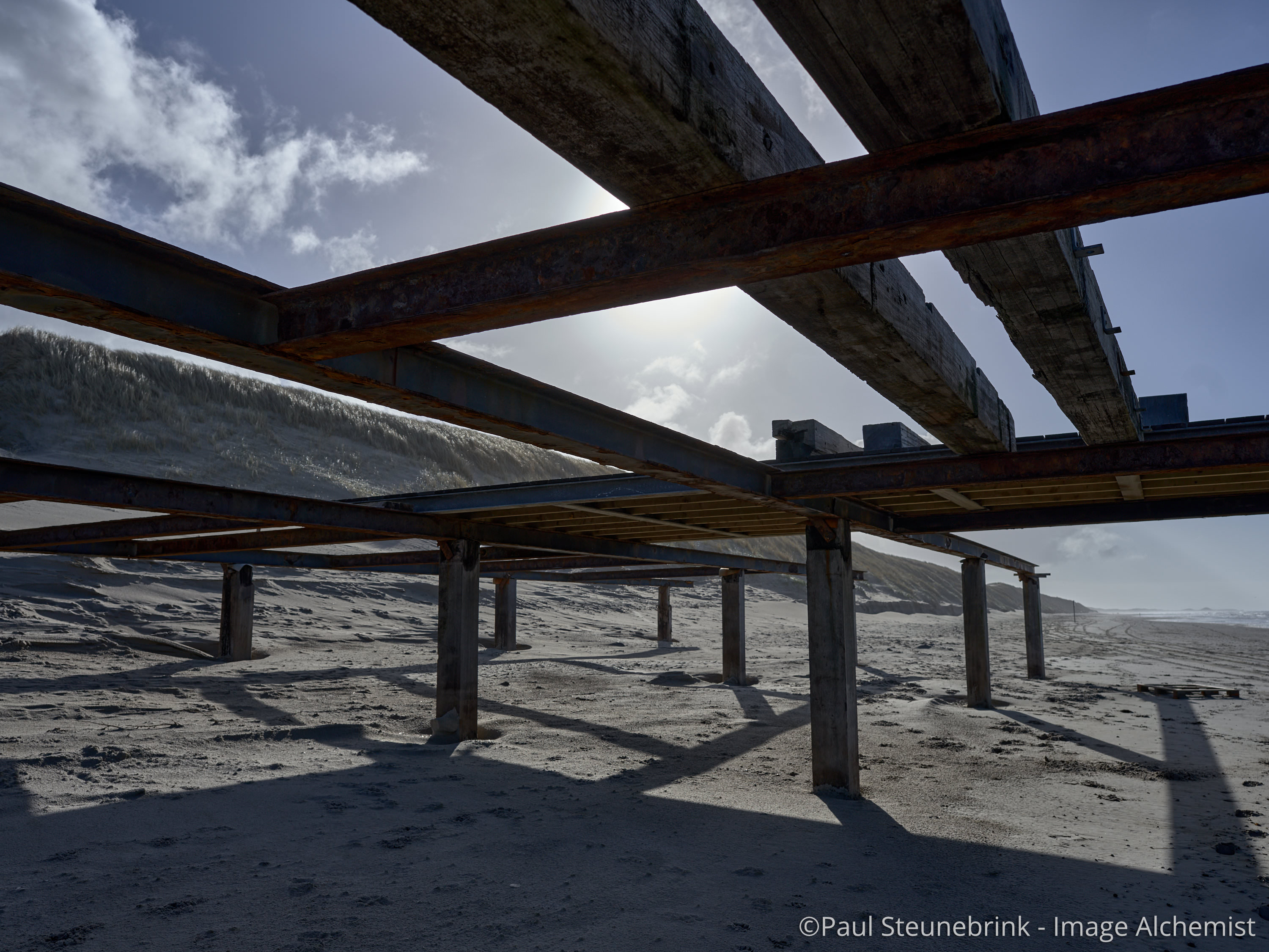 construction on the beach, moving catalog images, capture one 20