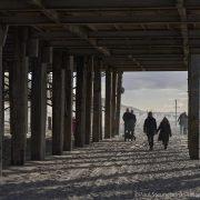 walking under the beach restaurant, capture one 20