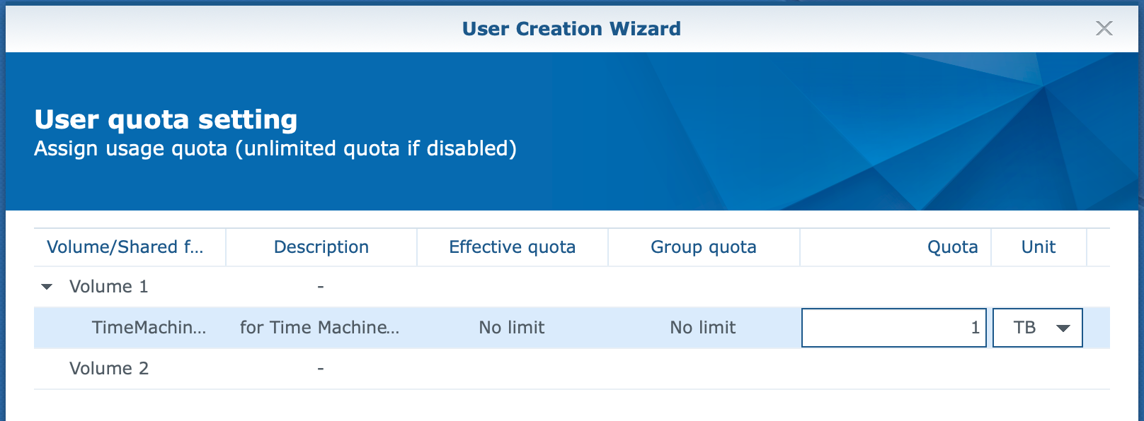 synology, user create wizard, dsm6