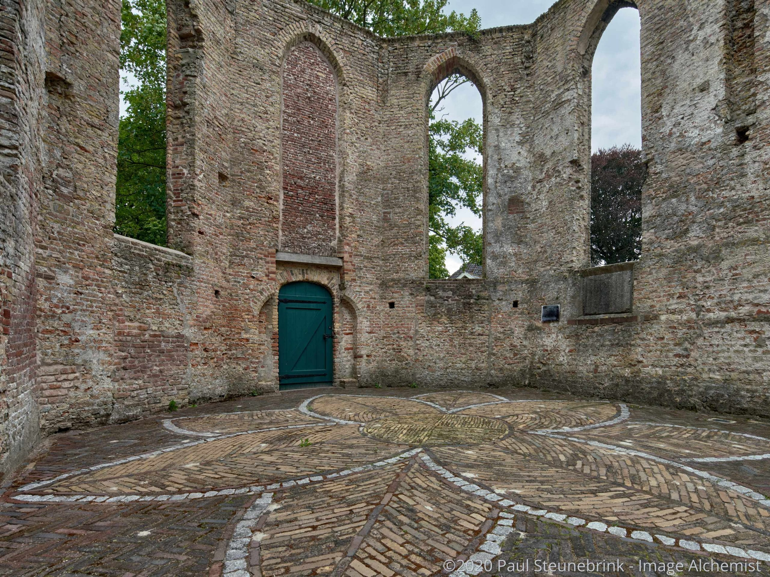 ruin of church, without style