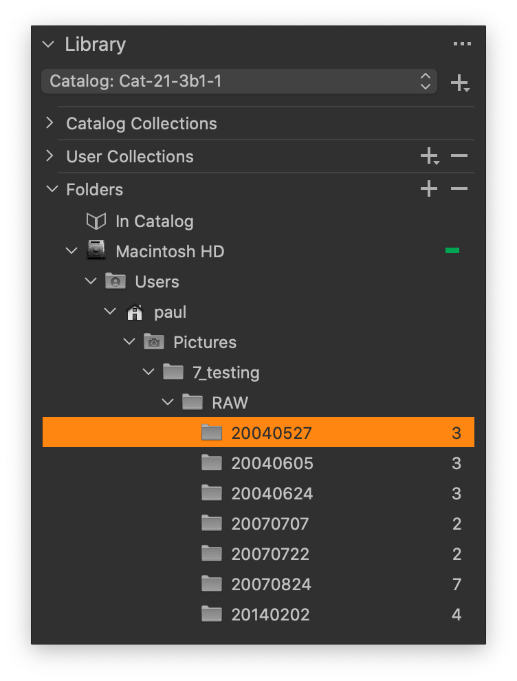 catalog library without subfolders, capture one 21 update 3 review