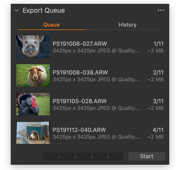 export queue tool, capture one 21 update 3 and 4 review